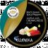 Зеленые и красные острые перчики фаршированные сливочным сыром, в масле в Мытищах
